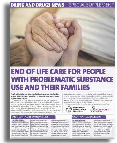 End of Life Care Guide for people with problematic substance use issues