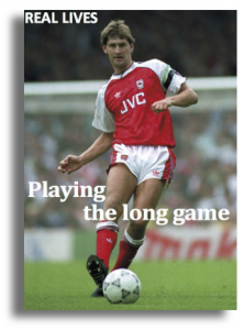 Tony Adams footballer - taking about drug and alcohol treatment