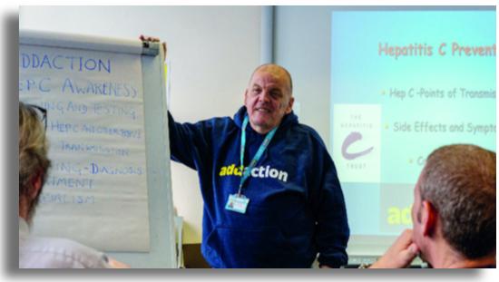 Ignatius Harling Hepatitis C peer educator at Addaction Bournemouth